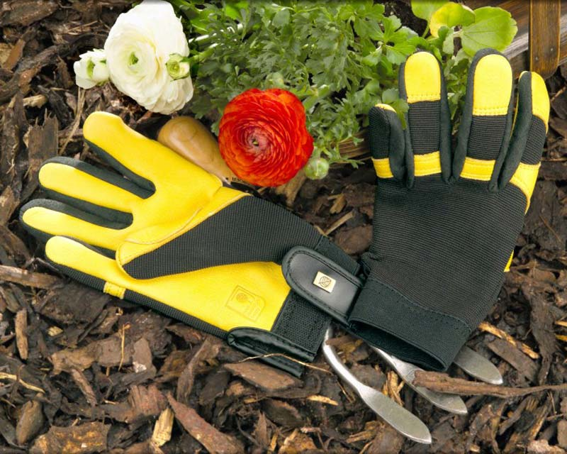 Soft Touch Garden Gloves - by Gold Leaf of the UK