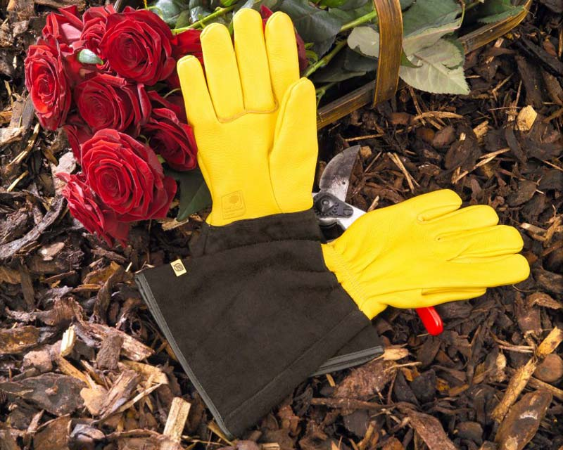 Tough Touch Garden Gloves by Gold Leaf of the UK