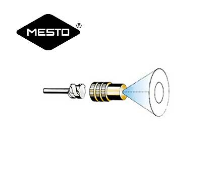 Brass nozzles with diffuser for mesto sprayers