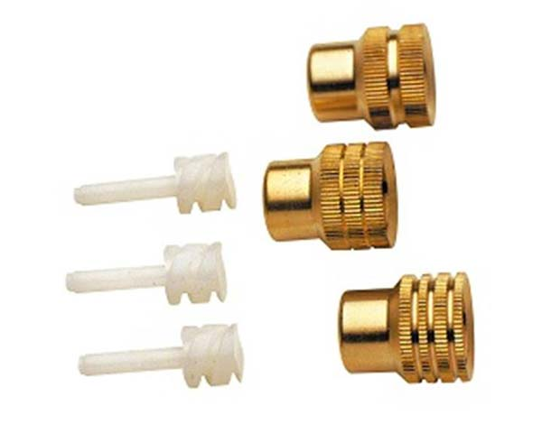 Set of Brass Nozzles and diffusers (2302) for Mesto Sprayers