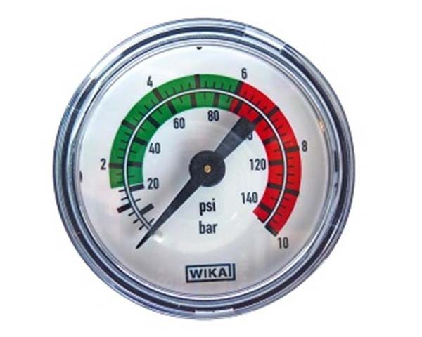 Pressure Gauge for Mesto Inox Sprayers 6701
