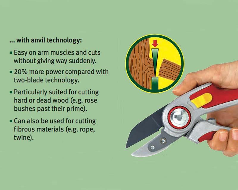 Benefits of anvil design