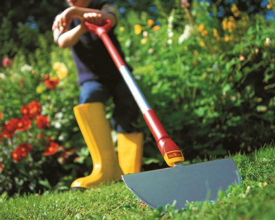 Half Moon Edger with fixed handle - Wolf