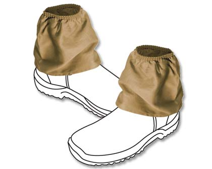 Classic overboots - keeps debris out of your boots or shoes while you are working