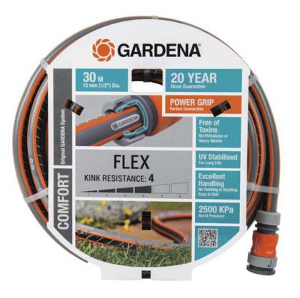 "Comfort Flex Hose 13mm (1/2"") GARDENA available 15 and 30m"