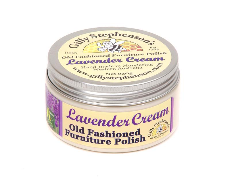 Gilly Stephenson's Old Fashioned Furniture Polish Cream, Lavender scented