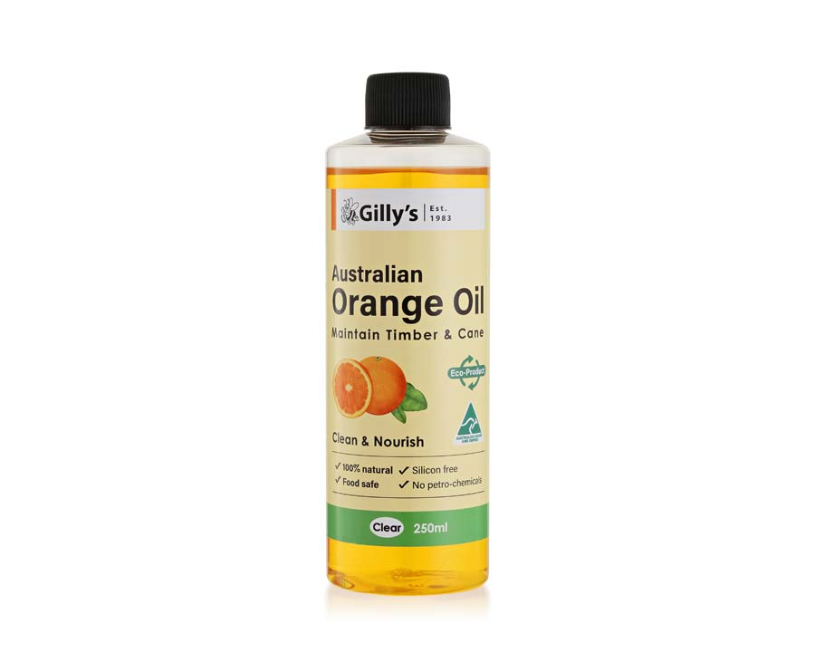 Orange Oil is food-safe and a great timber cleaner and restorer.