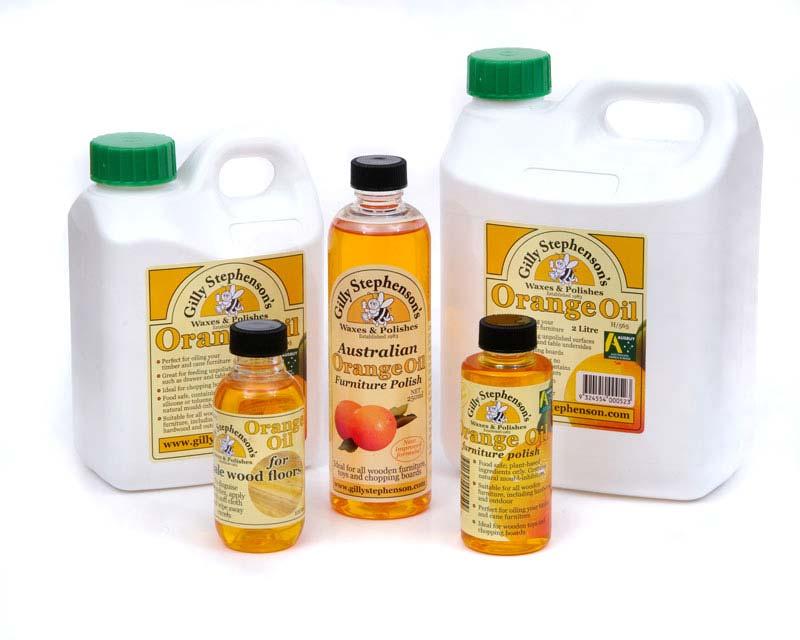 Orange Oil for wood