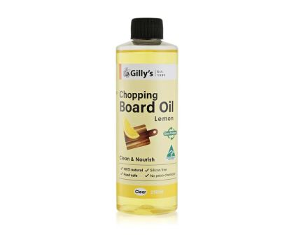 Lemon Oil for Chopping boards and kitchen work surfaces - Food safe