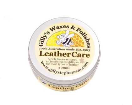 Gilly Stephenson's Leather Care, 200ml tin