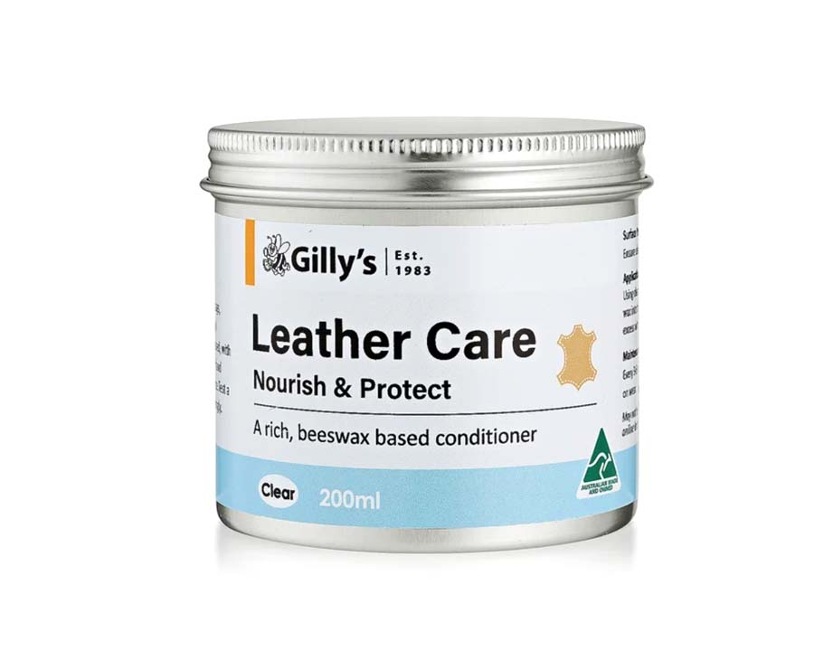 Gilly's Leather Care, 200ml tin