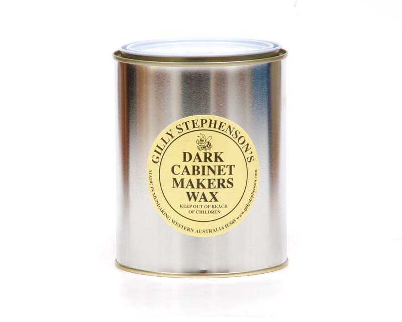 Gilly Stephenson's Cabinet Makers Wax Dark - one litre can