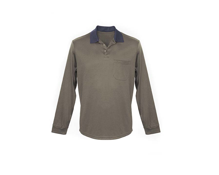 Classic Mens Polo Olive - Sun Protection Australia