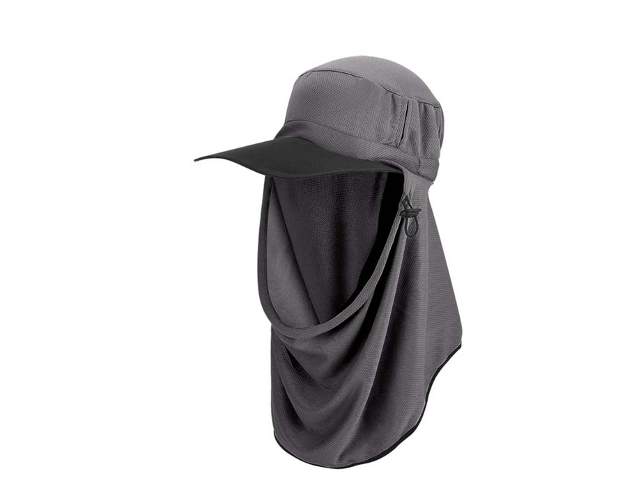 Adapt-a-Cap in Charcoal colour - Ultimate Sun Protection