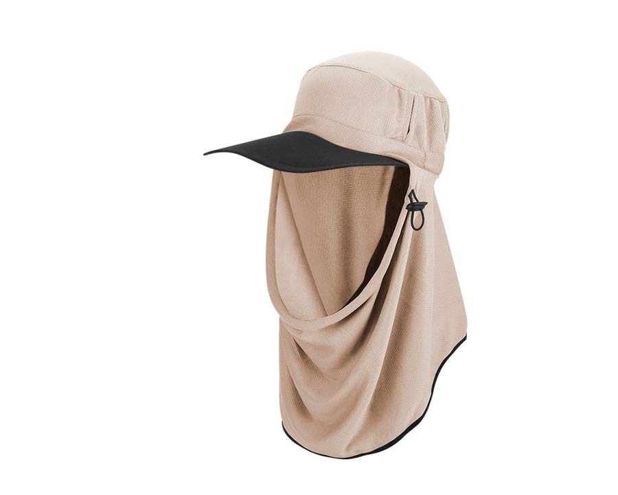 Adapt-a-Cap in Riverstone colour - Ultimate Sun Protection