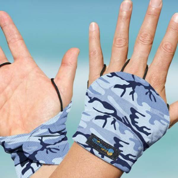 Palmless Glove - Camo marine