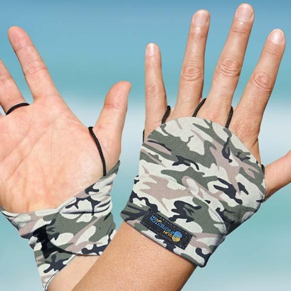 Palmless glove - Sand Camo