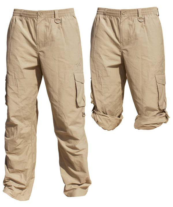 Unisex Cargo Pants in Stone colour