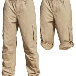 Unisex Cargo Activity Pants UPF50+