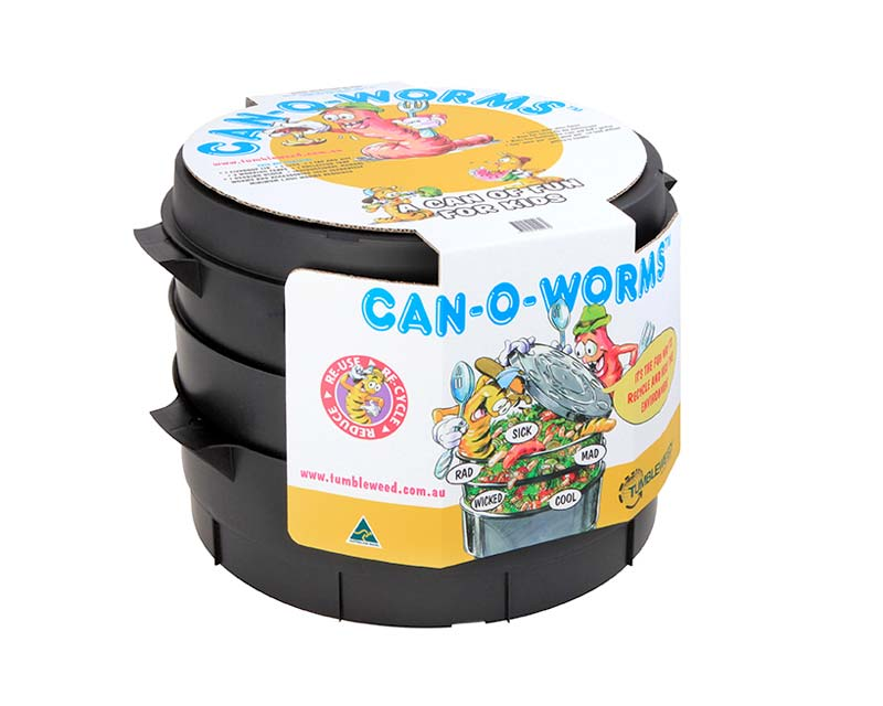Tumbleweed Can-O-Worms, perfect to introduce kids to composting and worm farming