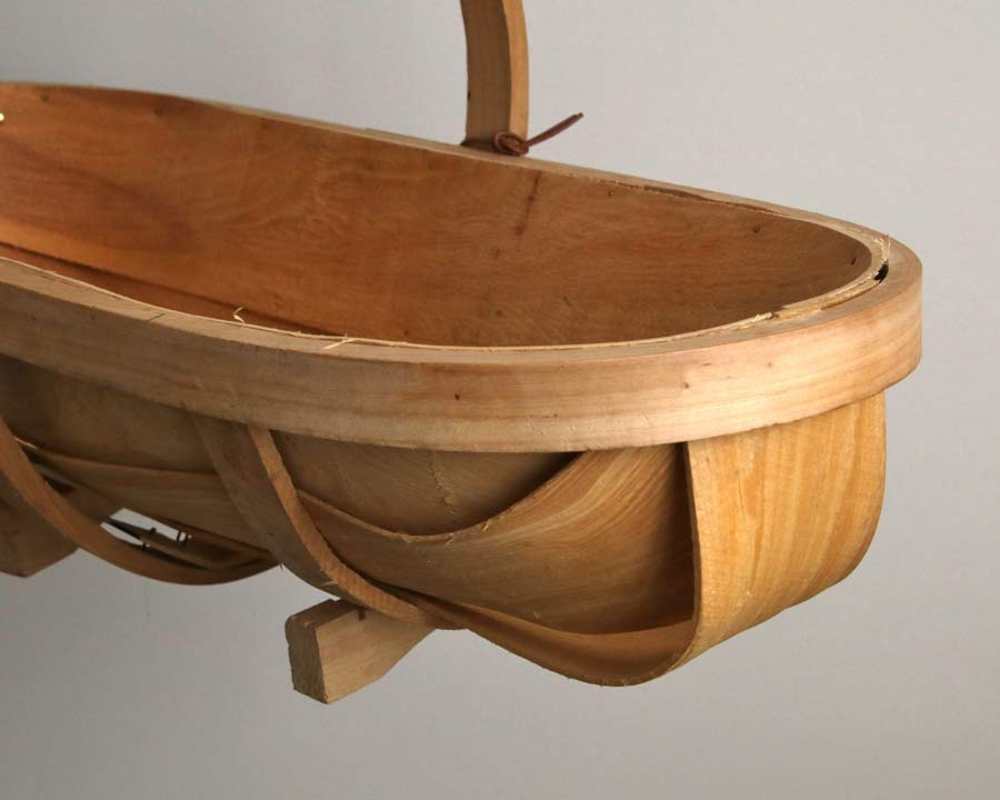 Traditional Wooden Trug - hand made with a rustic feel
