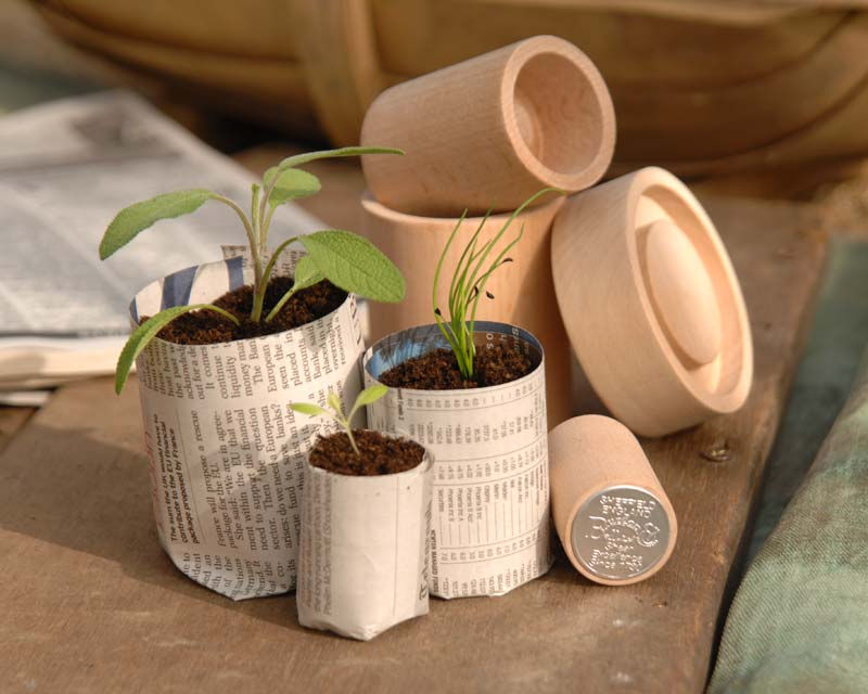 Eco pot maker kit by Burgon and Ball