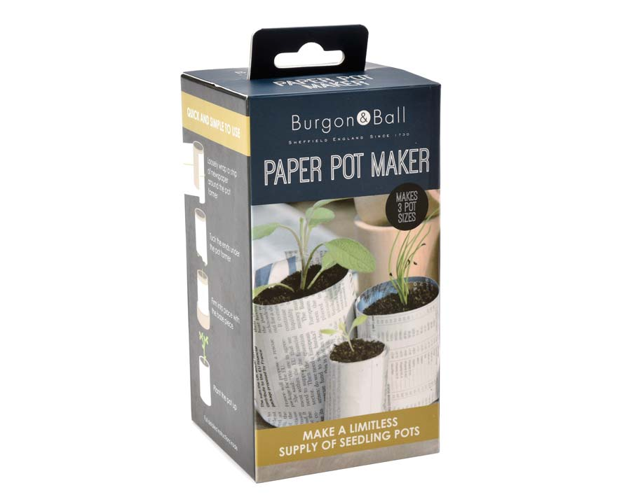 Paper Pot Maker Pack - Burgon & Ball