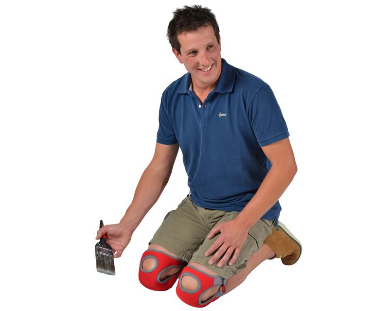 Kneelo KneePads - save the knees of gardeners and handymen alike.