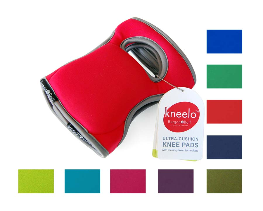 Kneelo Knee Pads by Burgon and Ball available in 9 colours