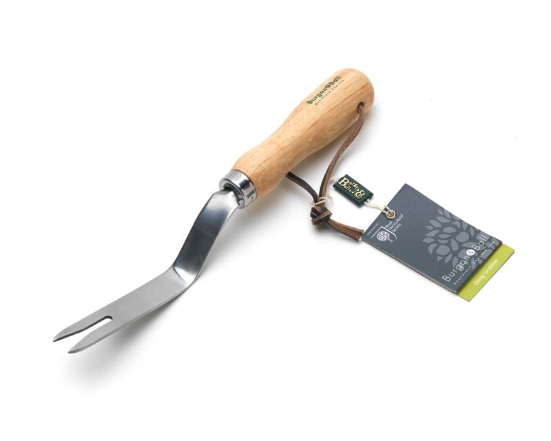 Stainless steel Daisy Grubber - part of the Classic Hand Tool range from Burgon & Ball