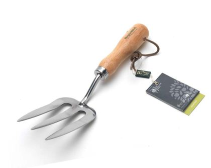 Stainless steel Hand Fork - part of the Classic Hand Tool range from Burgon & Ball