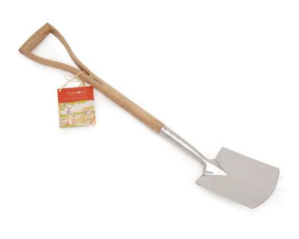 Budding Gardener Digging Spade - part of a range of tools for children by Burgon & Ball