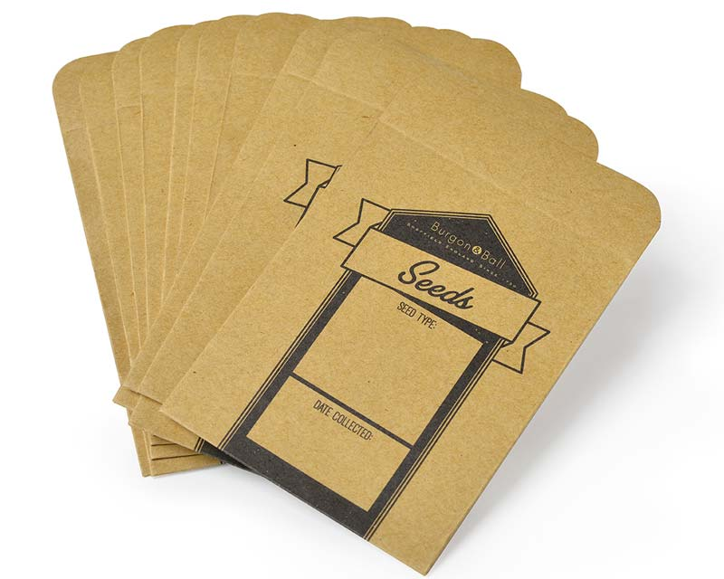 Burgon and Ball Essential Tools - Seed Storage Envelopes