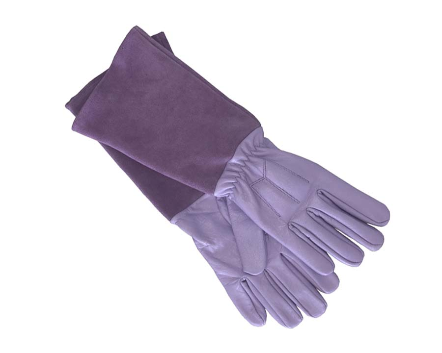 Scratch Protector Gloves in Lavender