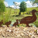 Ducks - decorative garden art