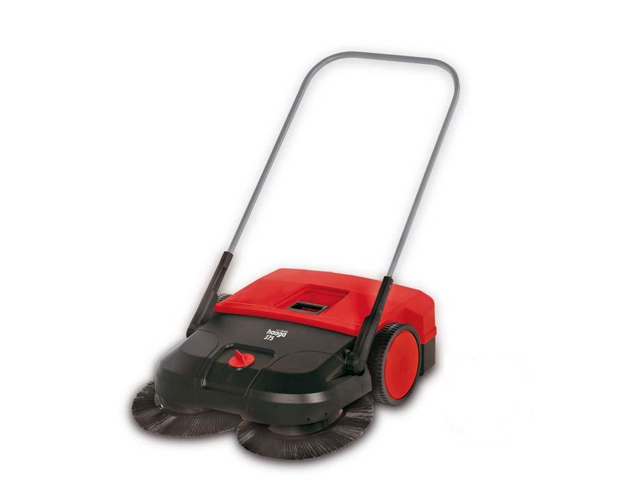 Haaga 375 sweeping machine