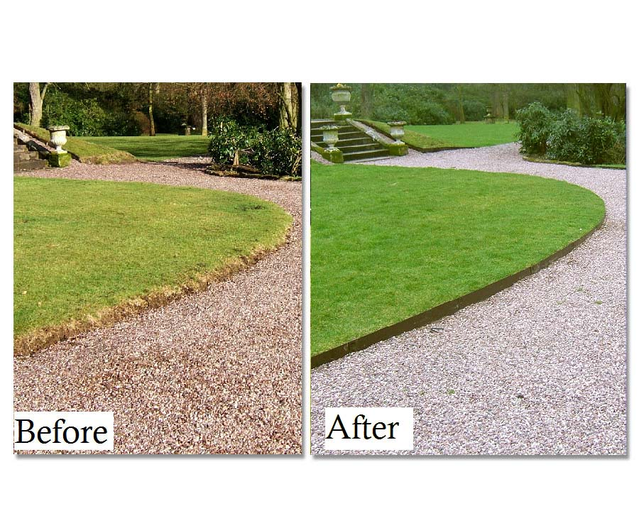 Everedge - before and after