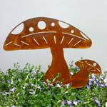 Mushrooms - Decorative Art.