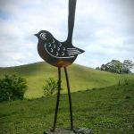 Quirky Bird - decorative art