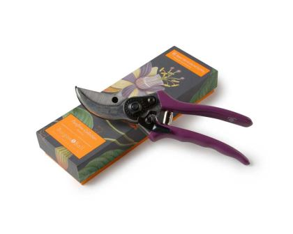 RHS endorsed Burgon and Ball secateurs are part of the Passiflora Collection.