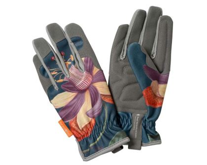 RHS endorsed Burgon and Ball Gloves Passiflora design