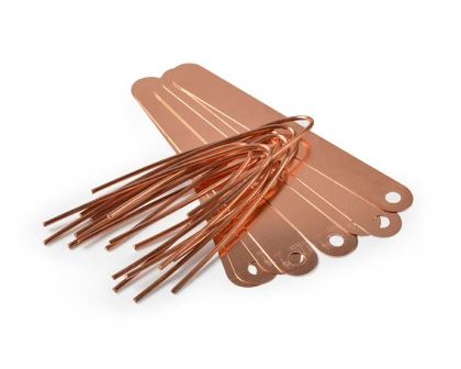 Copper Plant Tags by Burgon and Ball of the UK
