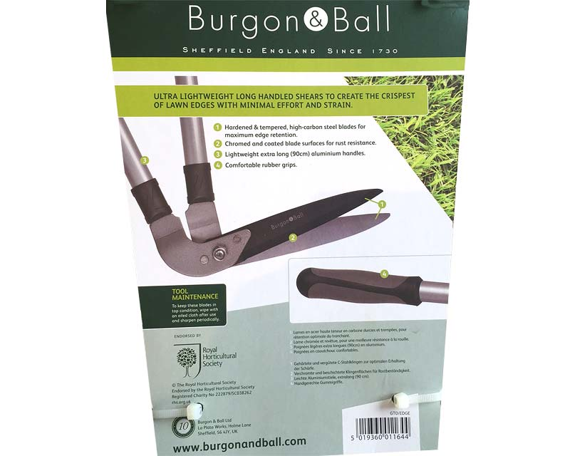 Lawn edging shears by Burgon and Ball