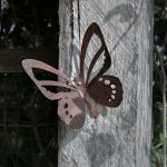 Wall Butterfly decorative garden art.