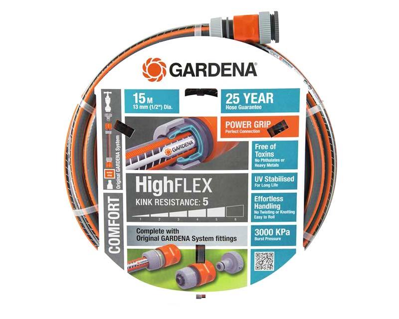 Gardena Comfort HiFlex G18180 fitted hose