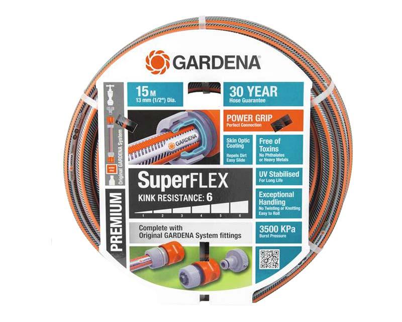 Gardena SuperFlex Premium fitted hose