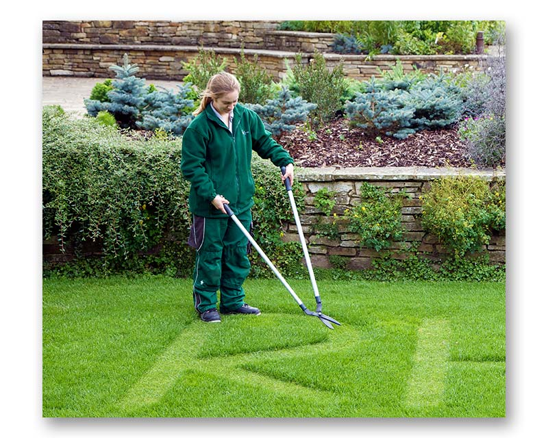 Long Handled lawn shears by Burgon & Ball