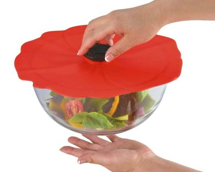 Charles Viancin Silicone Food Covers - Poppy