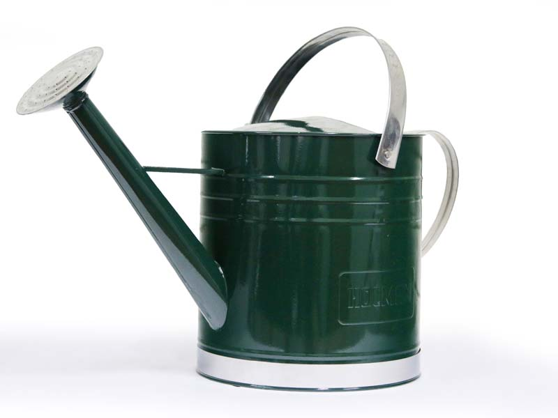 Holman 9litre galvanised Watering Can - Green
