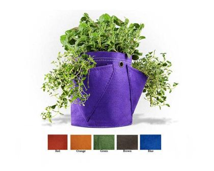 Bloombagz three pocket herb planter - 9 litre capacity